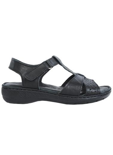 Castle Black Spor Sandalet Siyah